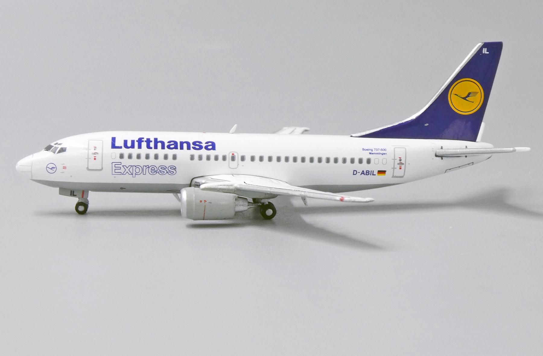 Scalemodelstore Com Jc Wings 1 400 Xx4886 Lufthansa Express Boeing 737 500