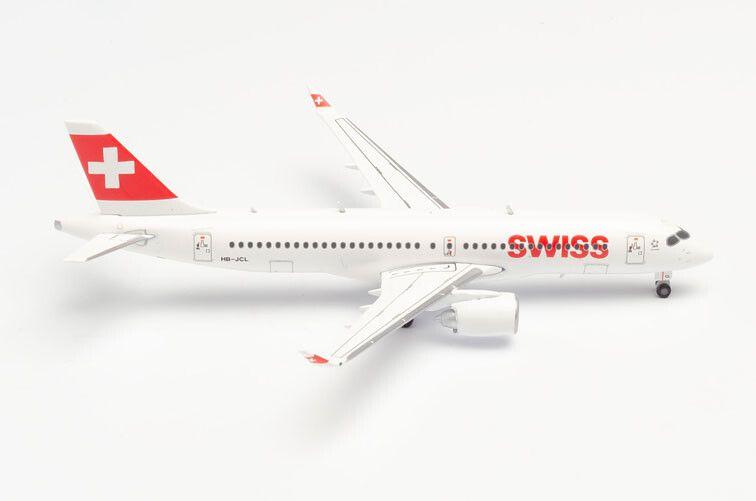 HE562614 HERPA WINGS SWISS INTERNATIONAL AIR LINES BOMBARDIER CS300 1//400